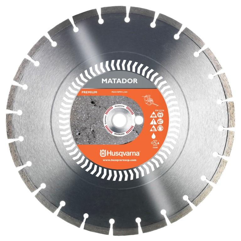Disco Matador Premium para Concreto Curado