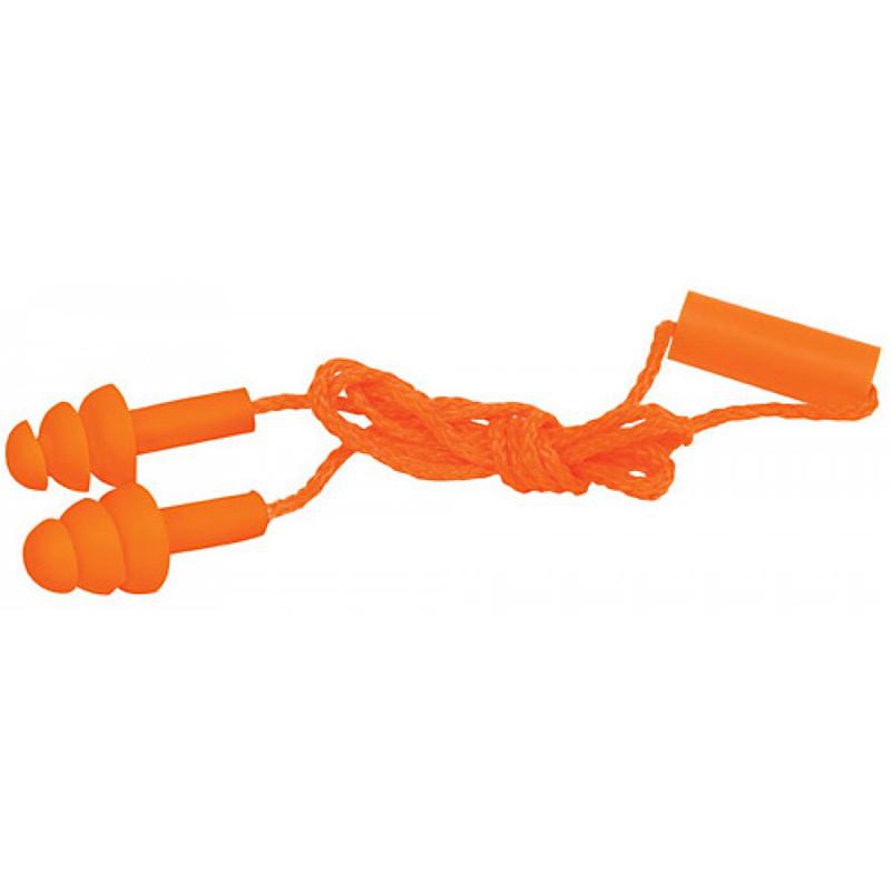 Protector auditivo trip barrera con cordon Truper - H14225