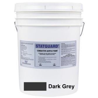 Pintura conductiva latex / dark gray