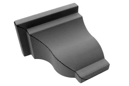 FC42E Esquina de cornisa serie 40/ Caja de 2 piezas