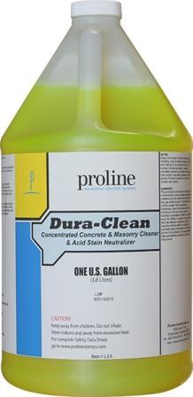 **Dura Clean / Limpiador, Alcalinizador y Neutralizador Acido para Concreto
