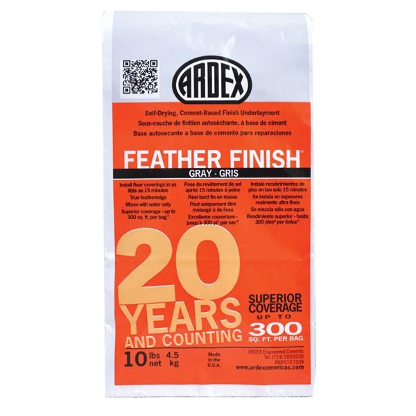 Feather Finish / microcemento para resanes finos / saco 10 Lb