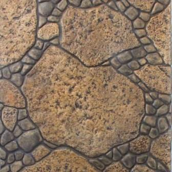 RS140/145 -Molde Random Garden Stone Para estampar concreto