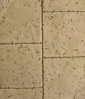 """TTR1800 -Molde Tumbled Travertine 18"""" X 18"""" Square Tile"""