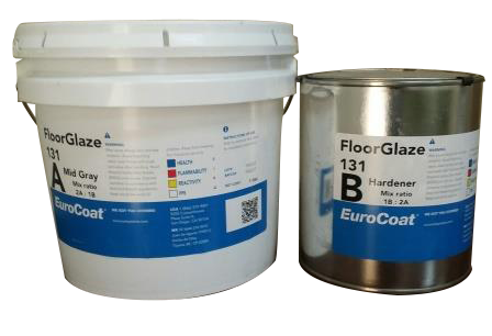 FloorGlaze 131 Color especial - Acabado autonivelante 100% solidos