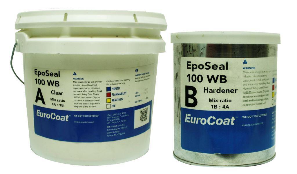EpoSeal 100WB- Sellador epoxico base agua para pisos de concreto