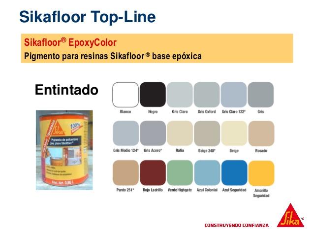 Sikafloor EpoxyColor Lata 0.25 gal colores regulares