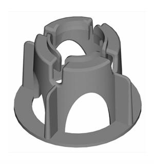 SM100- Silleta para Malla para recubrimiento de 2.5 cm
