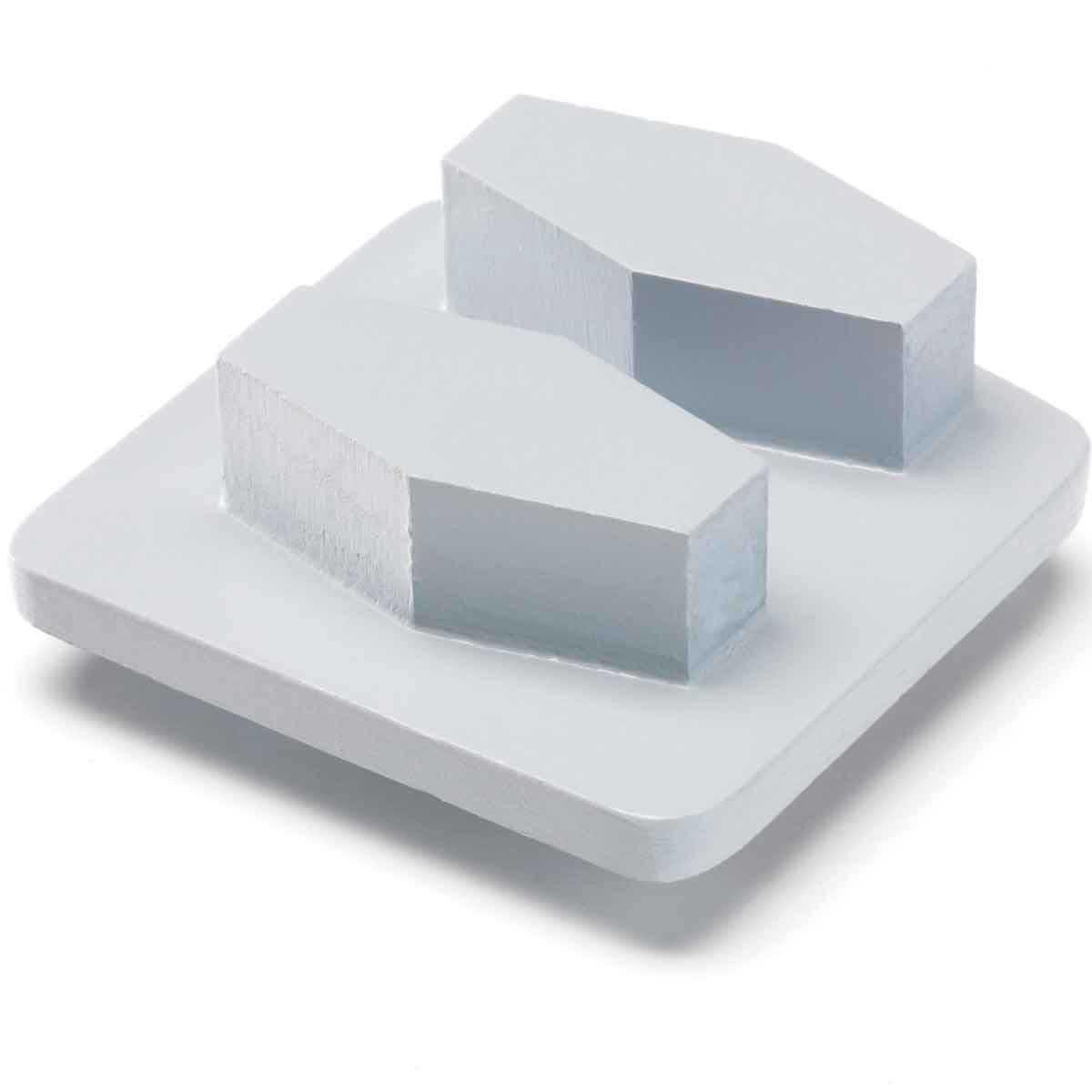 Redi Lock G640  Diamante de metal para concreto dureza media. Paquete de 3 pzas