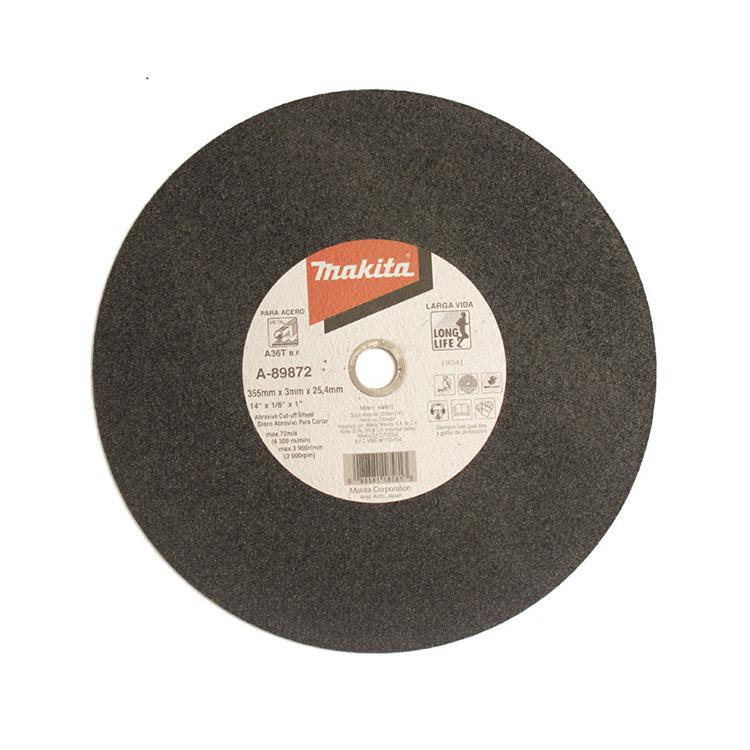 """A-89872 - Disco abrasivo 14"""" Corte metal"""
