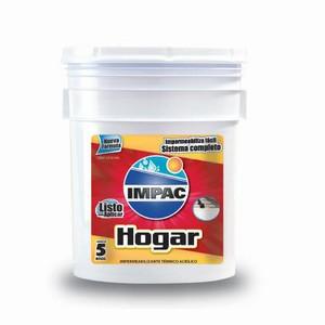 IMPAC HOGAR W N 5 -Impermeabilizante Blanco Cub 18 litros
