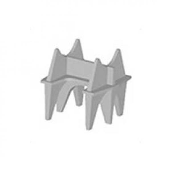 Silleta H para recubrimiento de 15cm - SH600