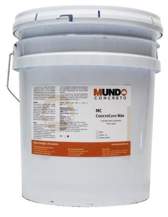 ConcreCure W - Curador para concreto base agua