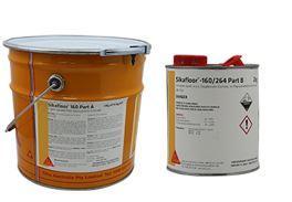 Sikafloor 160- Resina epoxica 100% solidos sin color. Kit de 18.9 kg