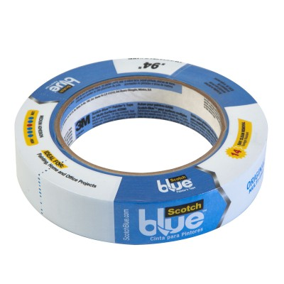 Tape 3M Tape Azul Ancho 1""